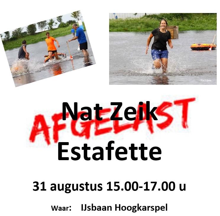 Afgelast: Natzeik Estaffette Zaterdag 31 Augustus !!!